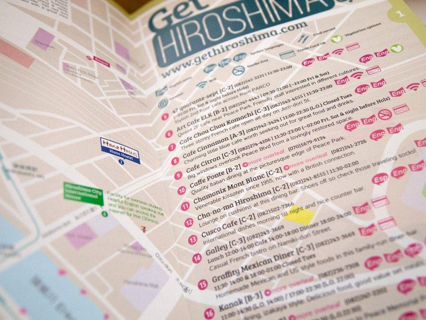 Carte GetHiroshima 2014