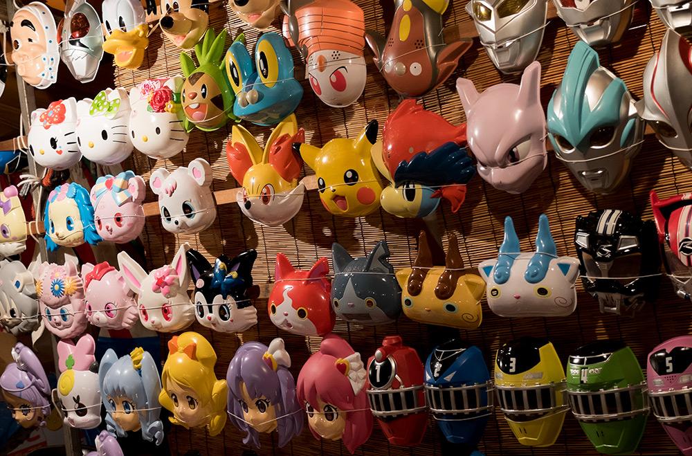 stand de masques pour enfants