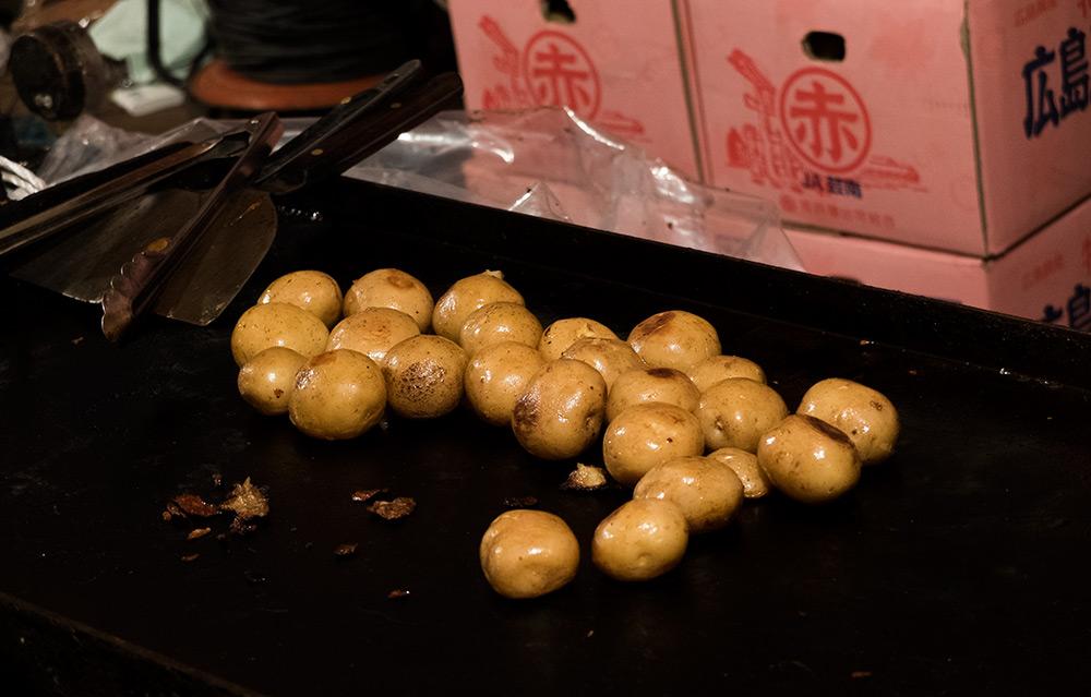 petites pommes de terre au beurre