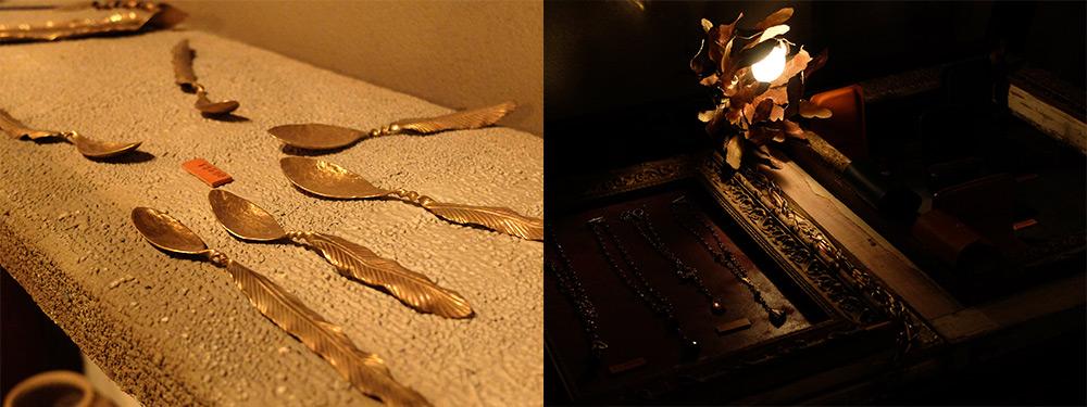 Bijoux et créations chez un cordonnier à Osuga, Hiroshima