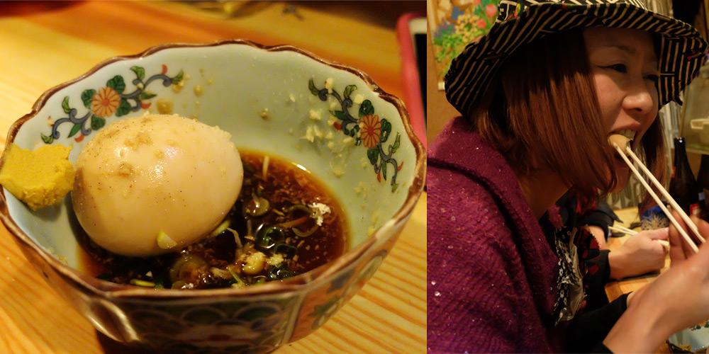 Tamago-oden à Kazu