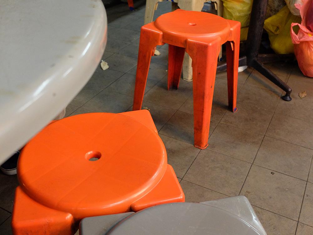 tabourets plastique Singapour