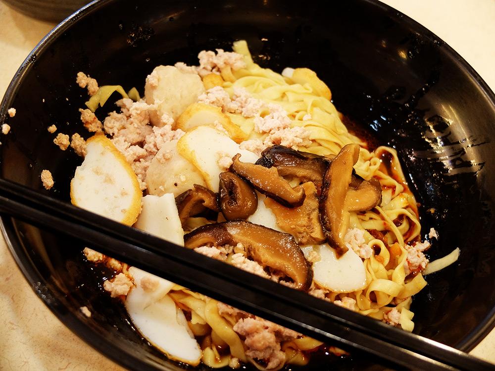 Fish ball soup Singapour