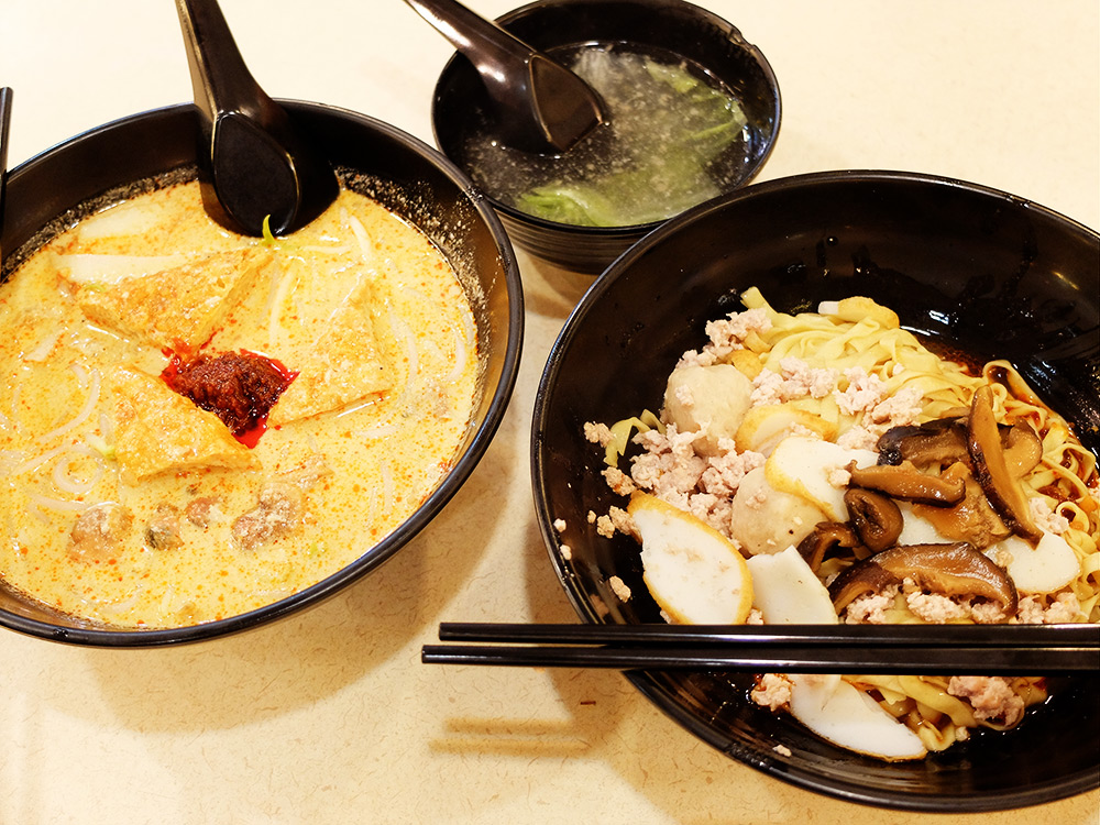 cuisine hawker Singapour