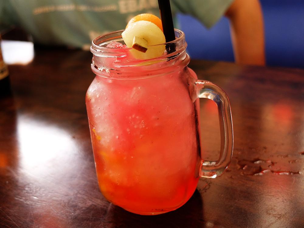 cocktail au zoo de Singapour