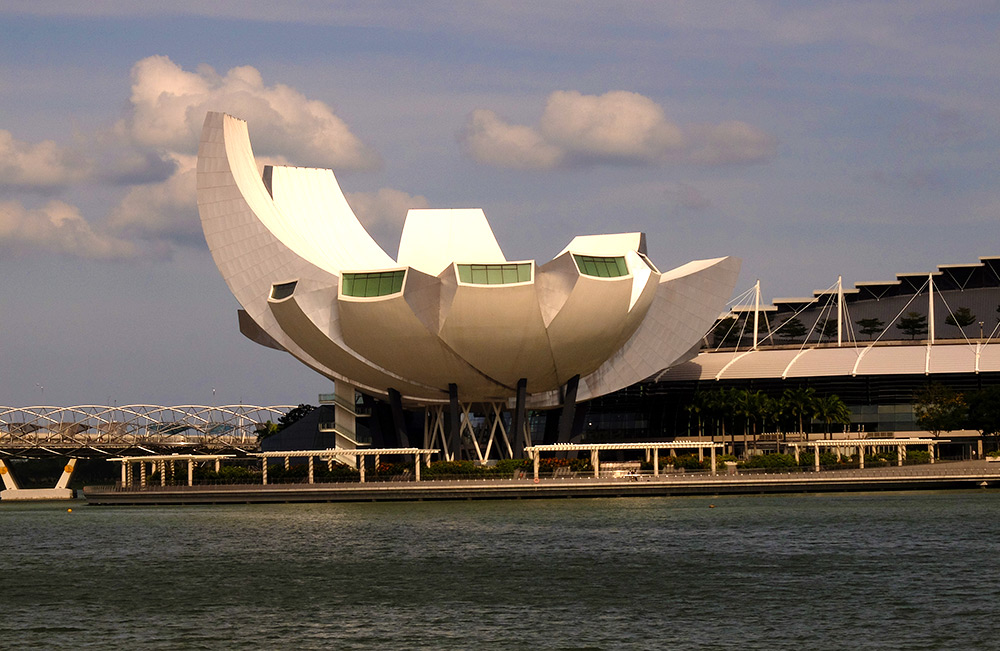 ArtScience museum Singapour