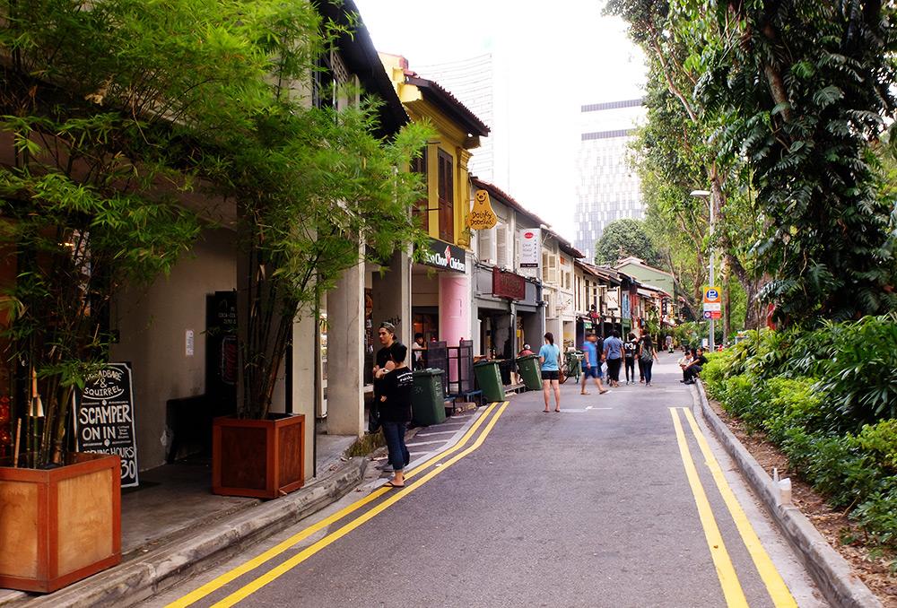 Bali Lane Singapour