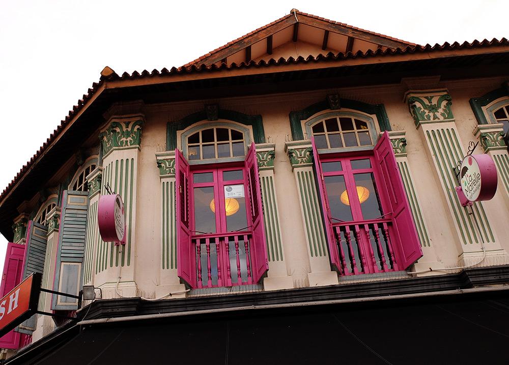 Bussorah Street Singapour
