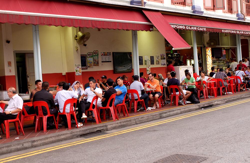 Baghdad Street Singapour
