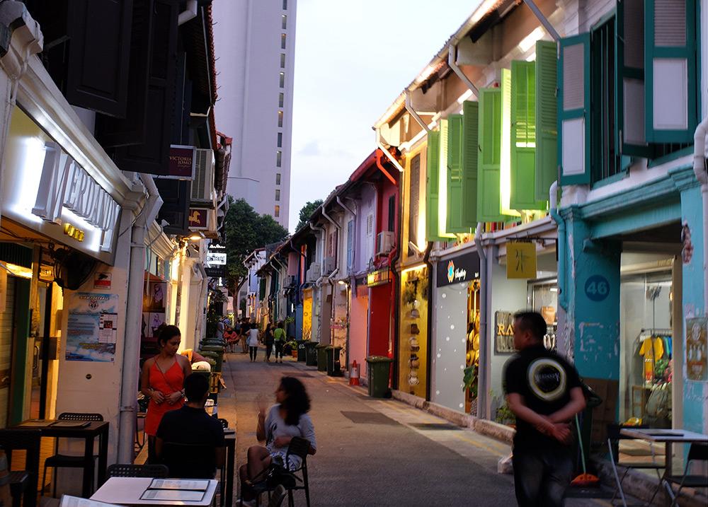 Haji Lane Singapour