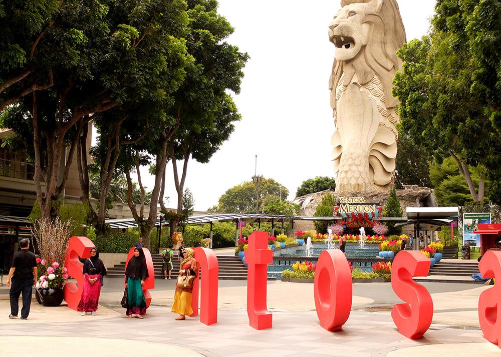Sentosa Island, Singapour