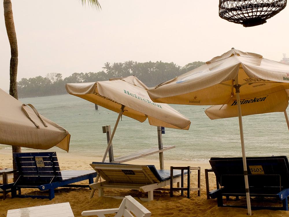 Siloso Beach Singapour