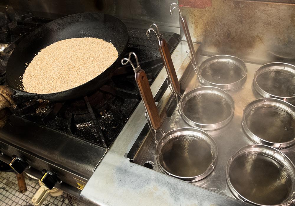 En cuisine à CHoiChoi-ya, Hiroshima