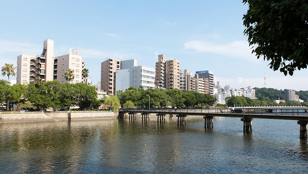 Rivière 京橋川 Kyobashi-gawa Hiroshima