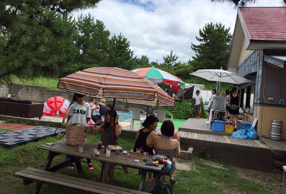 pool party Hamada