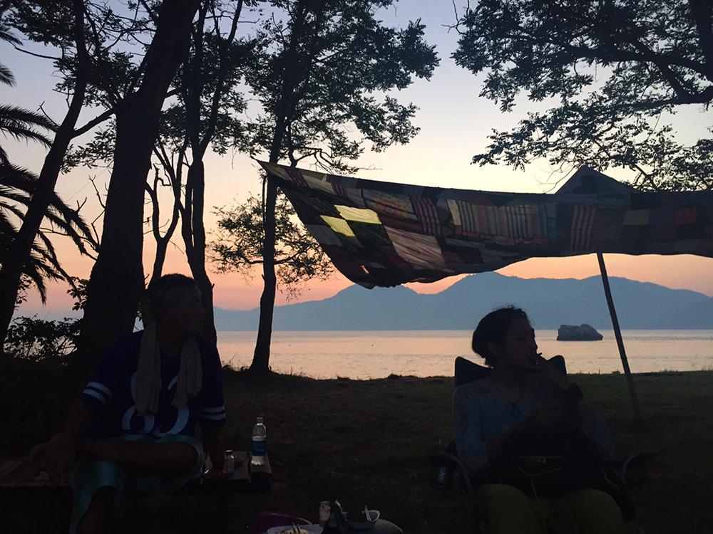 Morning Far Far Full Moon Beach Party 2015
