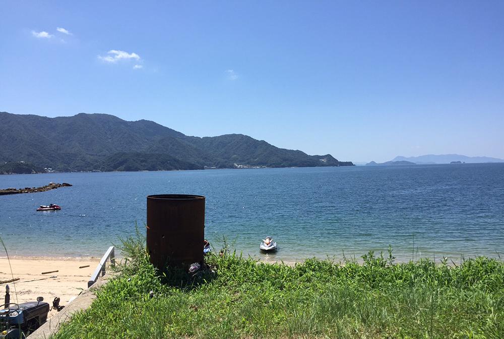 Nakano beach Etajima