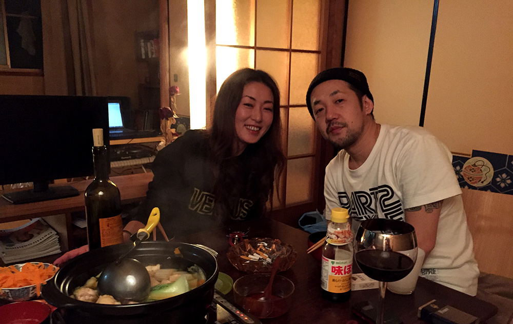 Nabe-party