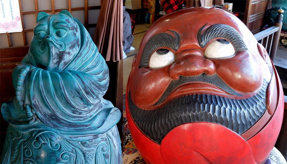 Daruma aux yeux exorbités, Daisho-in, Miyajima