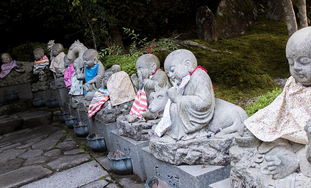 Statuettes Jizo, Daisho-in