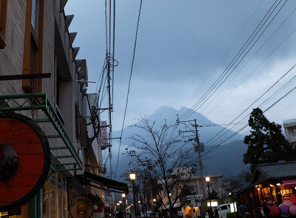 Mont Yufu, Yufuin, préfecture d'Oita, Kyushu