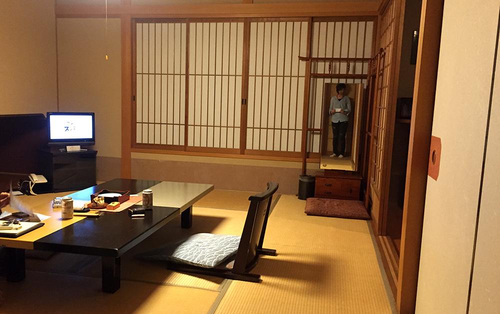 chambre de ryokan, Ichizen, Yufuin