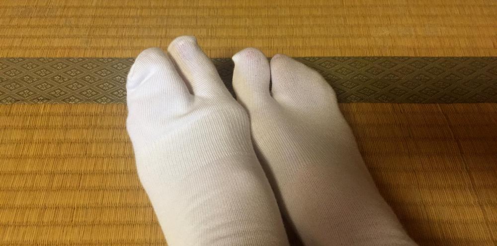 chaussettes 足袋 tabi
