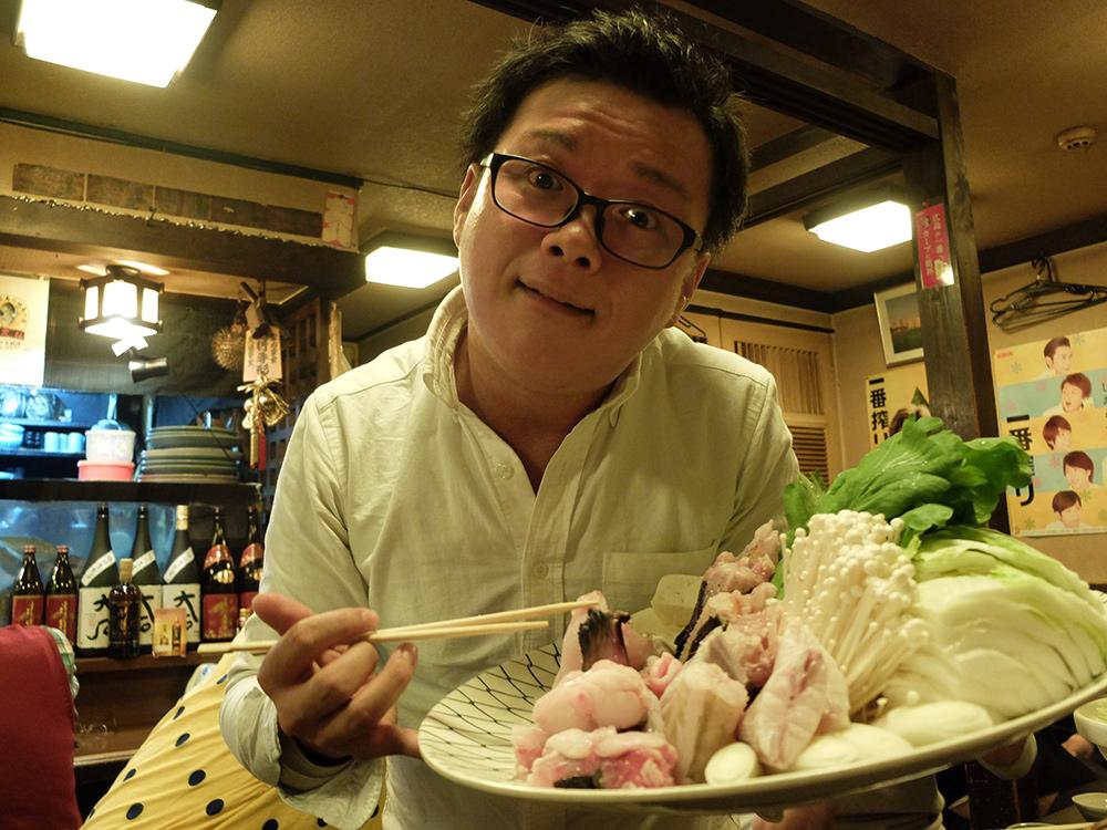 Nabé dans un izakaya, Hiroshima