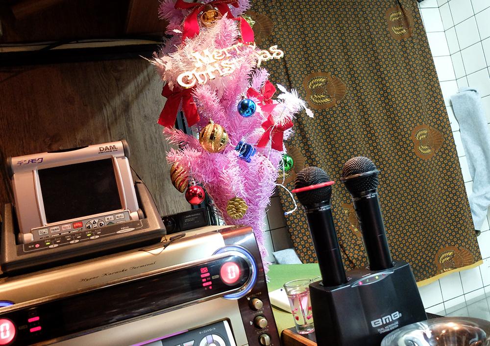 karaoke bar dans un appartement loué sur Airbnb à Kyoto