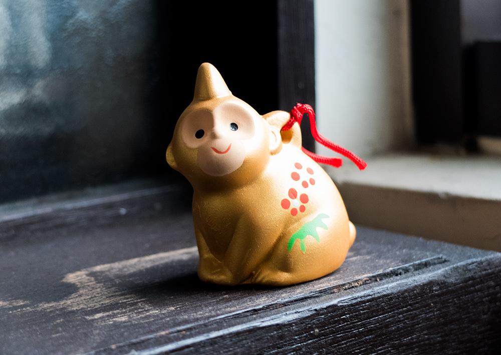 clochette singe, année du singe au Japon