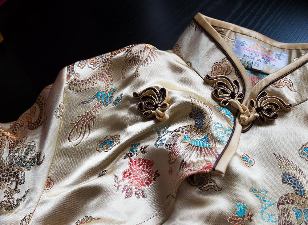 robe chinoise de Taïwan