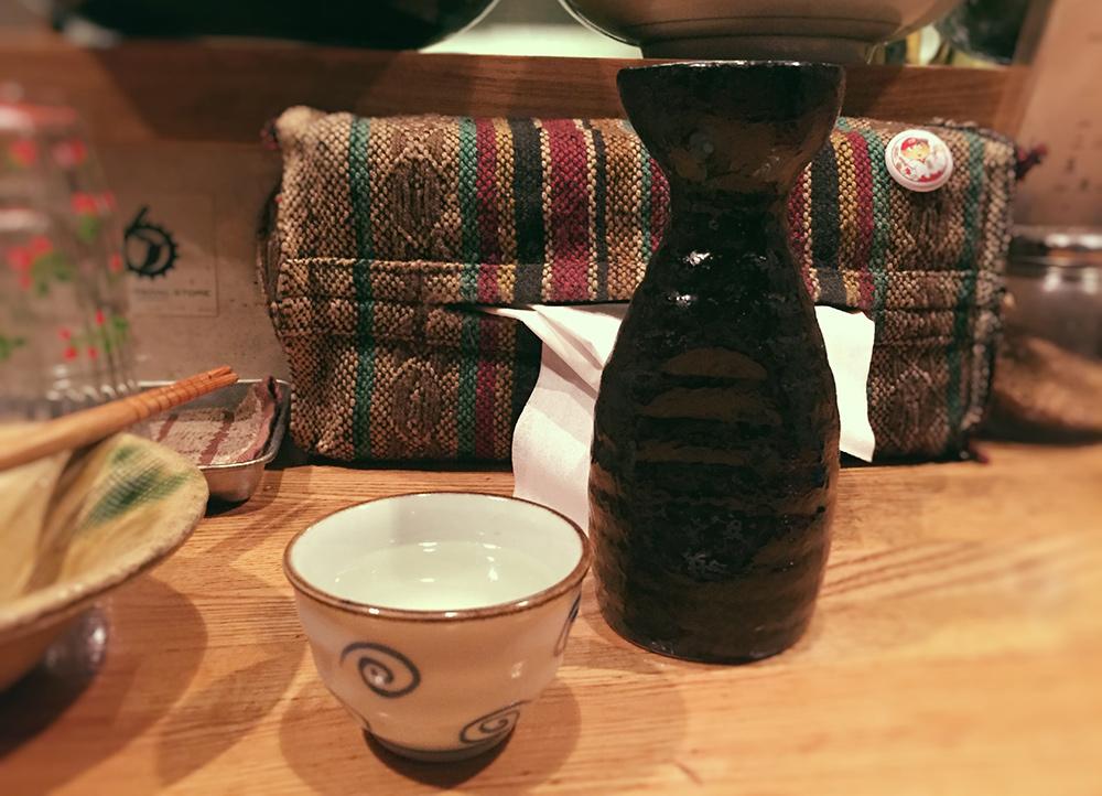 熱燗 atsukan, saké chaud