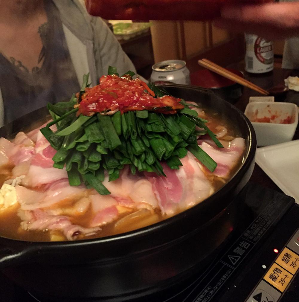 kimchi nabé