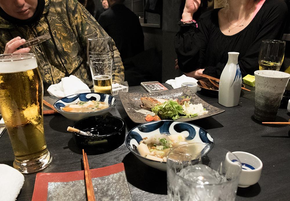 Alcool à volonté pour l'open party de l'izakaya Aistuki (あい月) Hiroshima