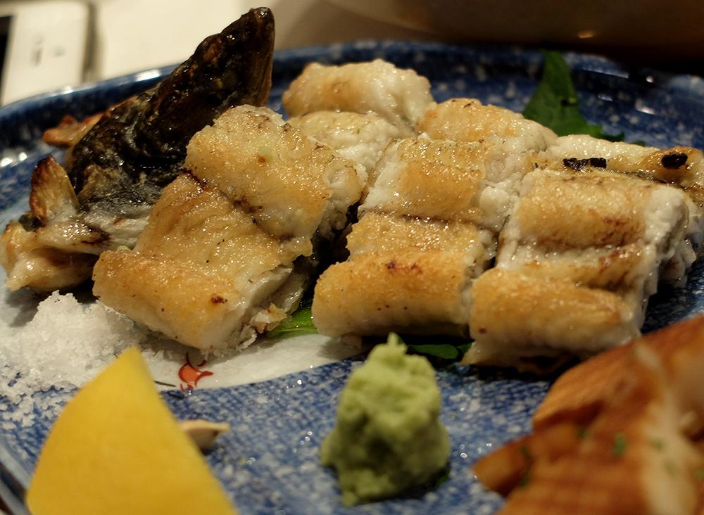 anguille, cuisine japonaise