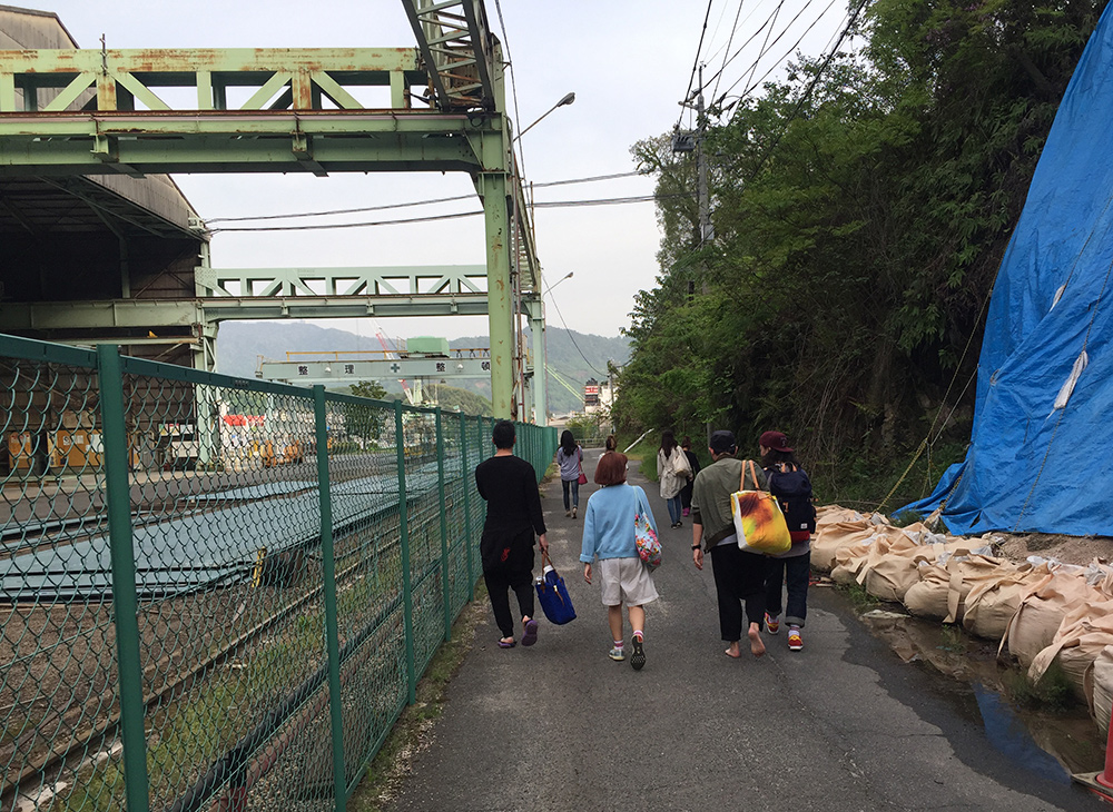 Kanawajima, entre industrie et nature
