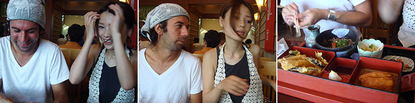 Rencontre avec Kiyo et soba à la gare