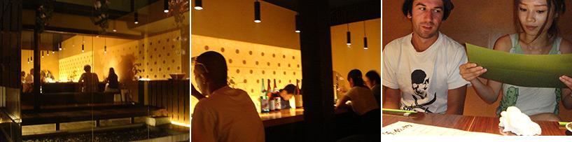 """Le choix des lieux de Kiyo, plutôt """"oshare"""", qui contrebalancent avec le genre d'endroits plus shibui où nous emmènent les autres"""