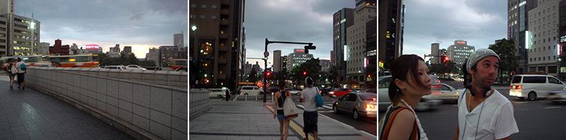 Le ciel hallucinant juste avant le typhon