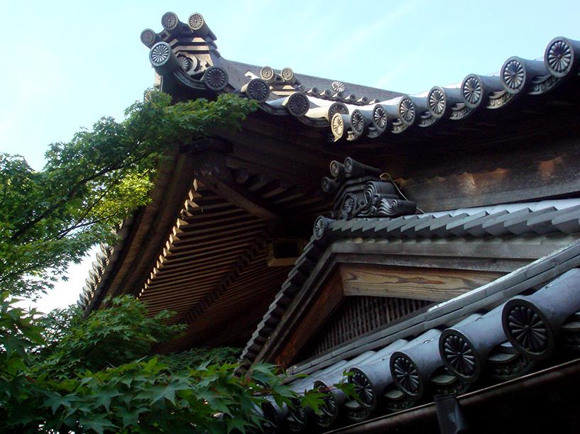 toit de temple Miyajima