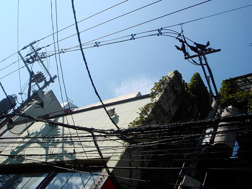 poteaux électriques Japon