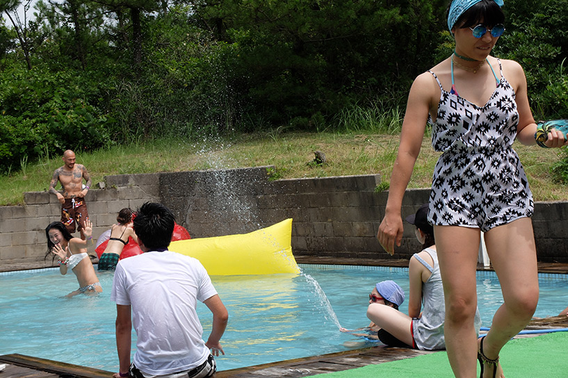 piscine Pool Party Japon