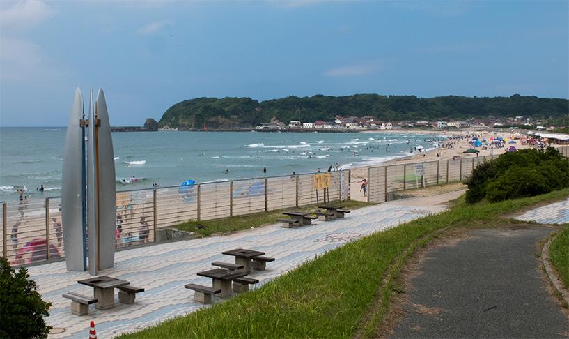 plage Japon Hamada Kokufu Shimane
