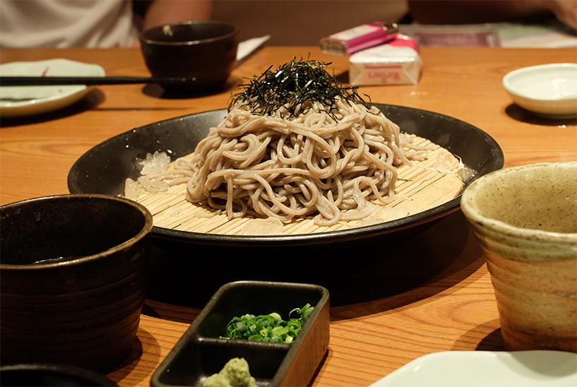 soba cuisine japonaise