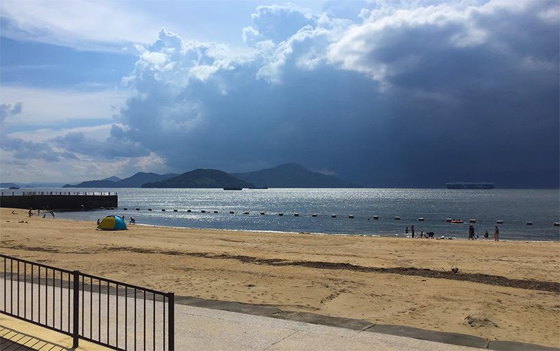 Saka Bayside beach - Hiroshima