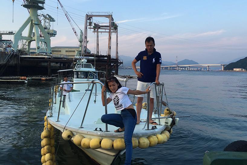 bateau Kanawajima, Hiroshima