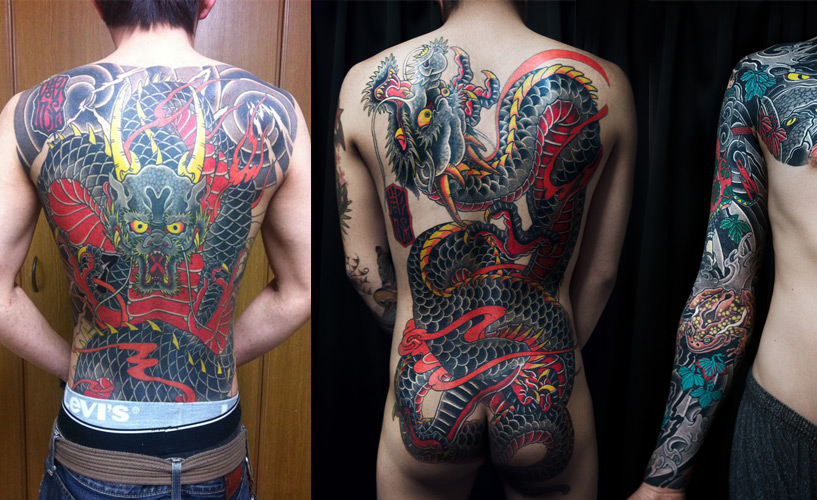 Horitamotsu, tattoo artist Hiroshima
