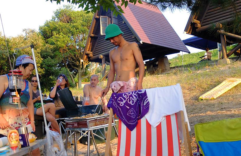 cuisine au camping Japon