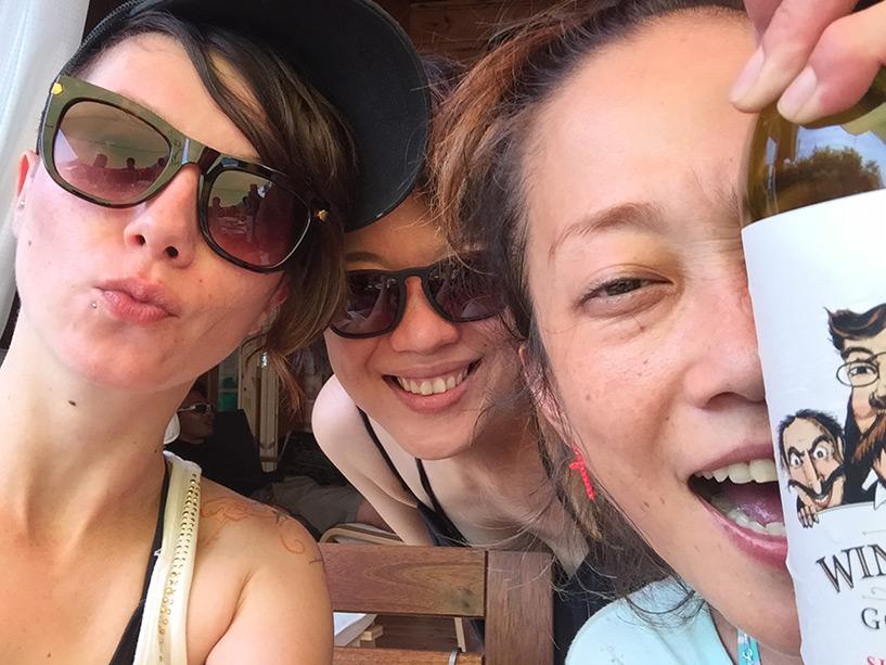 avec les copines japonaises
