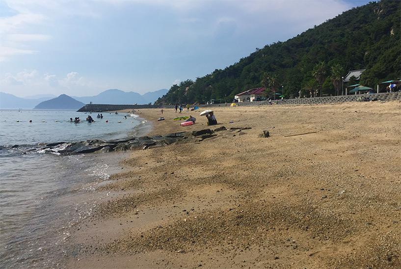 plage Japon Etajima, Mer intérieure de Seto